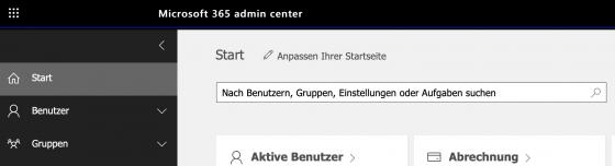 Microsoft Deutsche Cloud AdminCenter