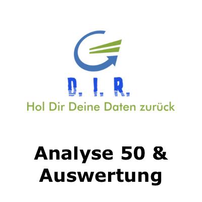 Analyse und Auswertung 50