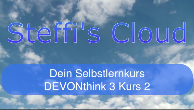 DEVONthink 3 - Kurs 1